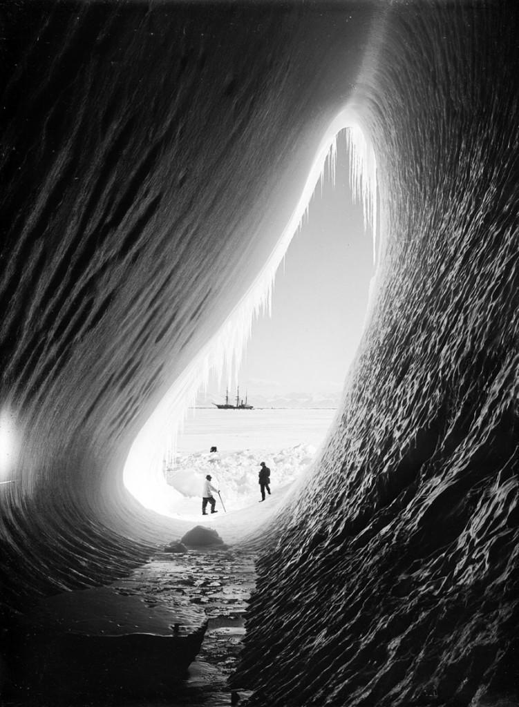 Ice-Cave, Antarctica.